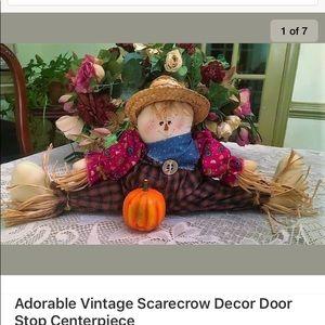 Vintage Scarecrow Decor Door Stop Centerpieces